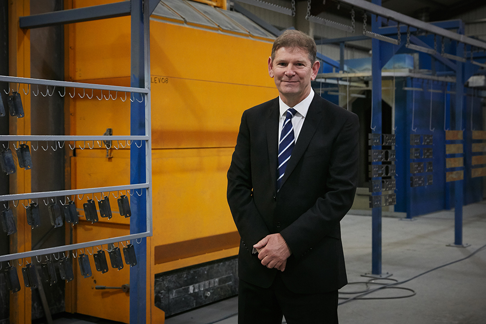 Charles Corner, Managing Director of Malton Laser