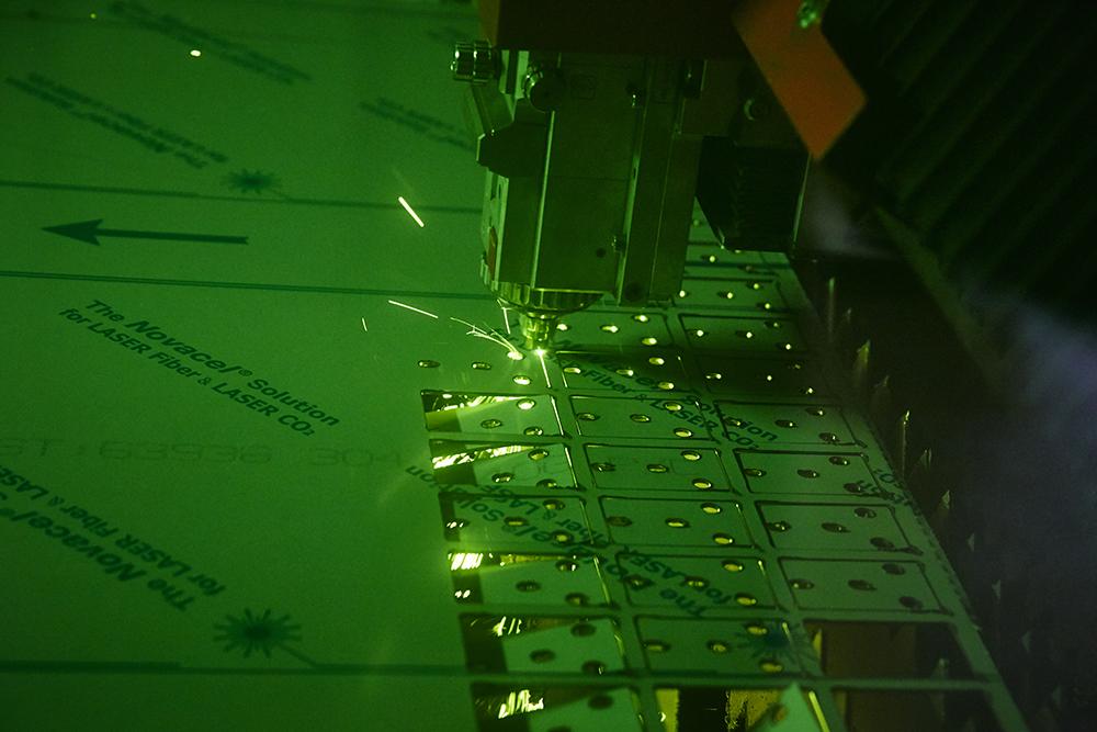 Laser cutting at Malton Laser